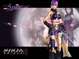 Ayane Wallpaper by BioDio