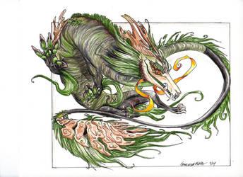 Moss Fu by Pythosart