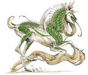 Chlorophyll Kirin by Pythosart