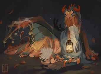 Commission: Runa by Pythosart