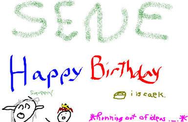 Happy Birthday Sene by CGChewie