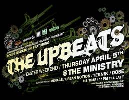 TheUpbeats - NZ gig flyer by Crittz