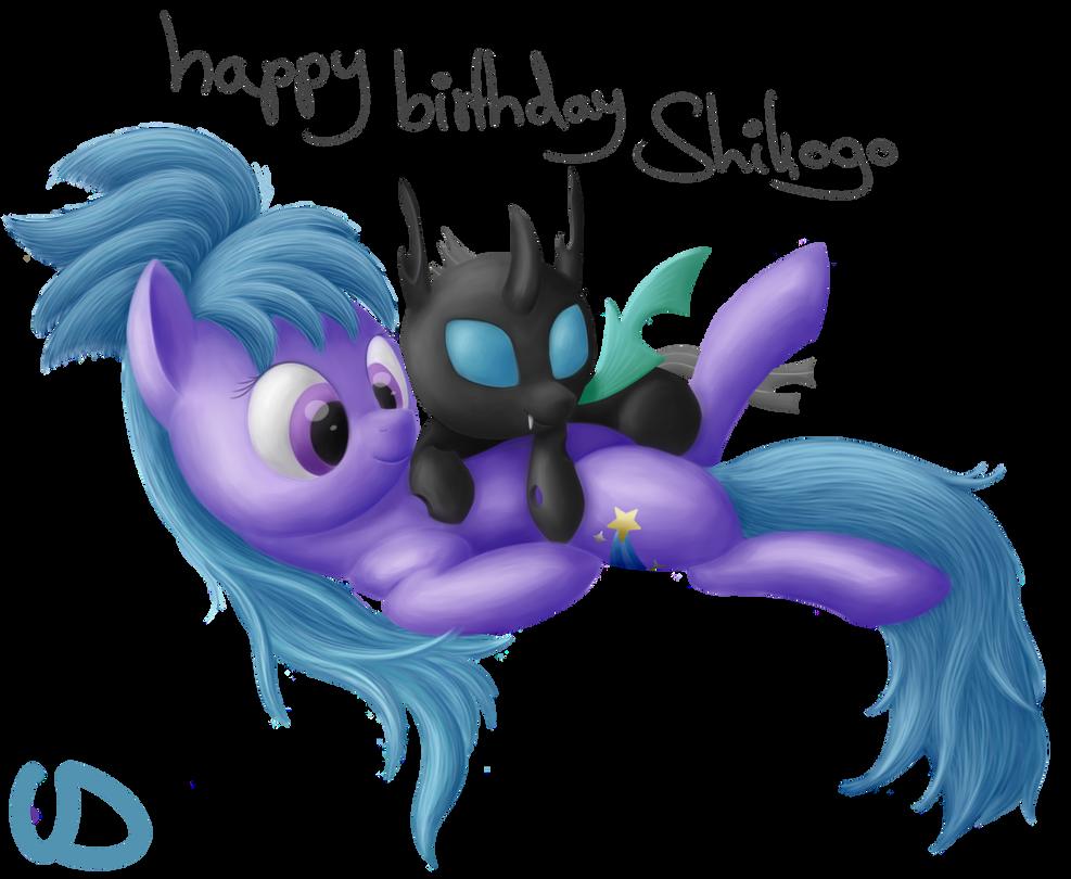 Happy Birthday Shikogo by Uber--Dragon