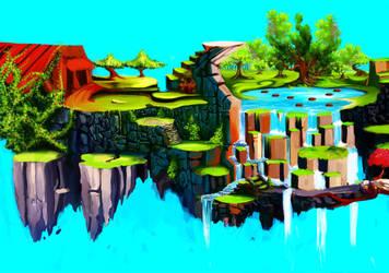 Budo Background by JesusFC