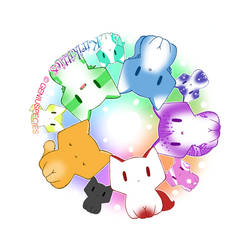 Kirikitties Circle by p-o-c-k-e-t