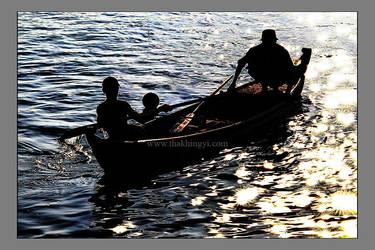 Gone Fishing by ThaKhinGyi