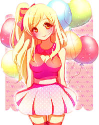 Balloons by Emi-Liu