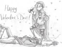 Happy Valentine's Day! by Win-E