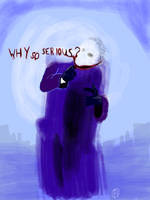 Why so serious? by RatButcher