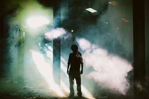 Salvador Smoke in the warehouse by SalvadorDewald