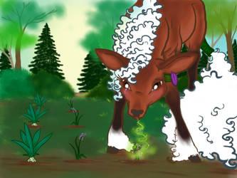 Gotta Love her Green Thum- Mmm... Hoof! by Howl-n-Hart