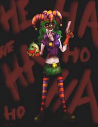 Fem Joker by midgear
