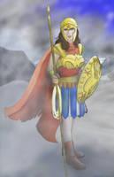 Wonder Woman (With Clothing) by midgear