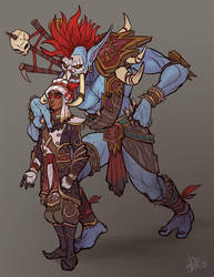 Don't disrespect the Warchief by adrhaze