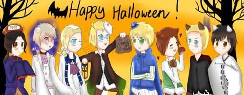APH: Happy Halloween! by serpchi