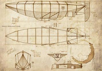 GA: Vehicle - Zeppelin cruiser by Adi-Ilythiiri