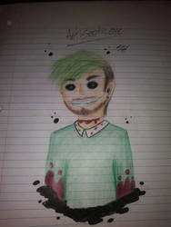 Antisepticeye (Color) by SylasTheHero14