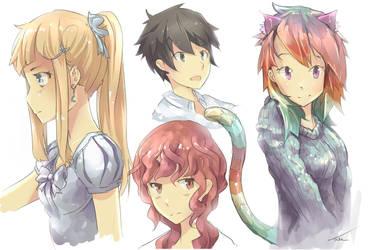 Manga Practice by IkazuDasWhale