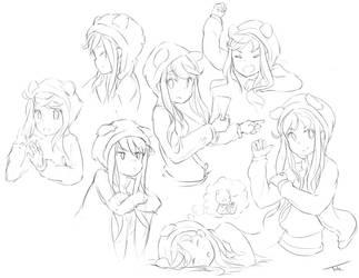 Sketchin by IkazuDasWhale