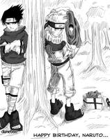 Happy Birthday, Naruto... by duneboo