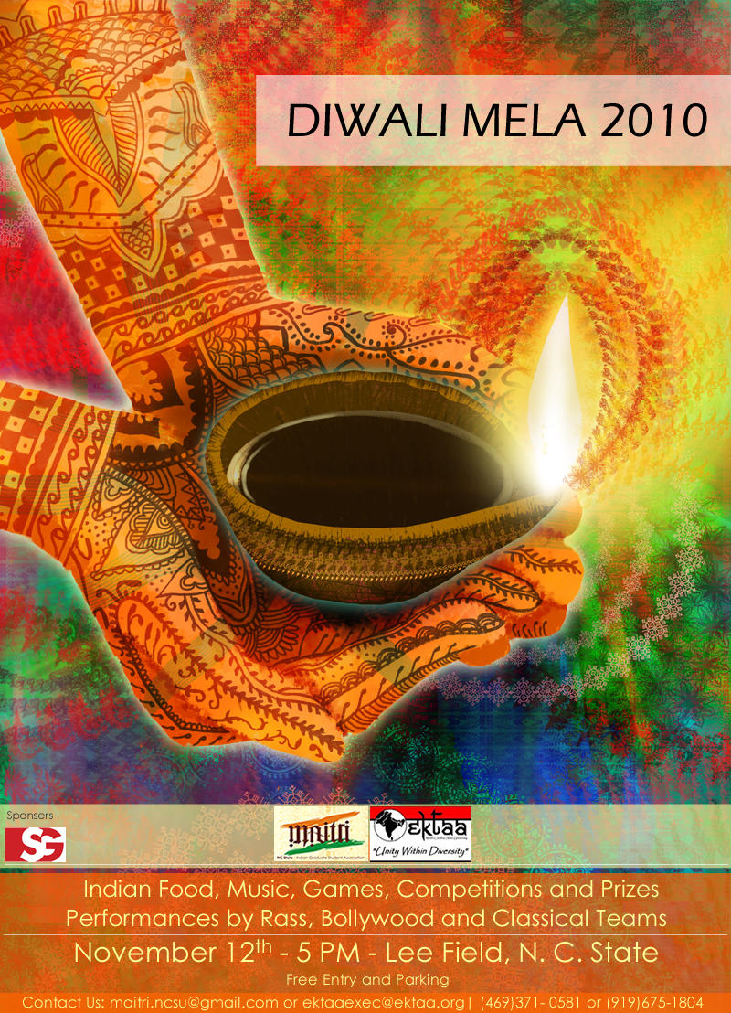 Diwali Poster 2010 by nikatrex