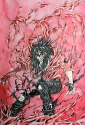 Crimson Night by MemoryFragment