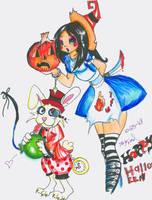 Alice's Halloween Pahmkyn. by TipsyReturns
