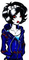 Emo Snow White by Skissored