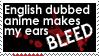 I Don't Like Dubs by KrisCynical