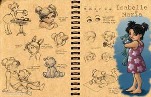 Isabelle Maria: Design Sheet by KrisCynical