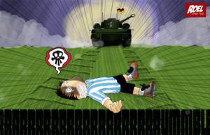 German vs Argentina by roelworks
