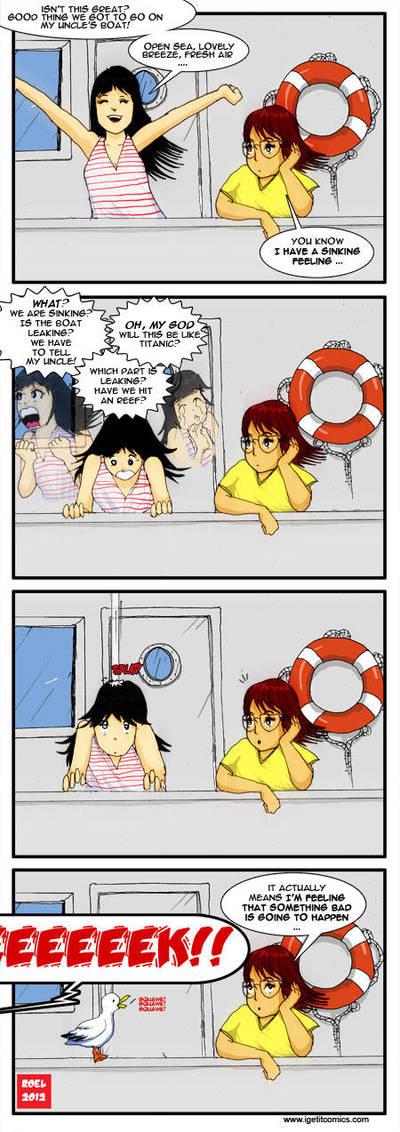 Sinking feeling by roelworks