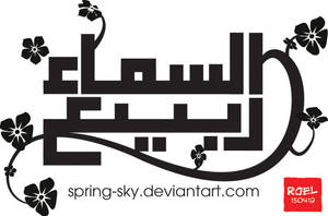 spring-sky logo contest by roelworks