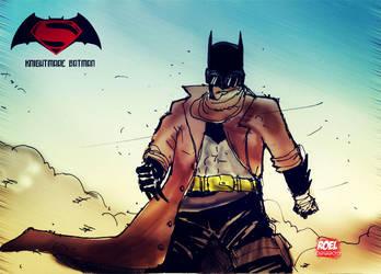 Knightmare Batman by roelworks
