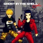 Ghost in the Shell Alpha by roelworks