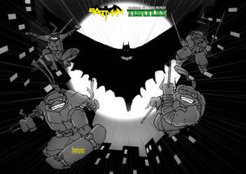 Bat Vs Turtles by roelworks