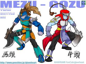 Mezu and Gozu WP by MAINFRAME-FanClub