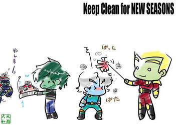 Keep Clean by MAINFRAME-FanClub