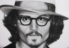 Johnny Depp Portrait by Fabryart93