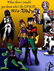 Dark Teen Titans. . . by Kare-San