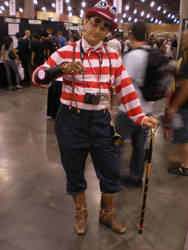 steampunk Waldo by TheBoyOnTheKit