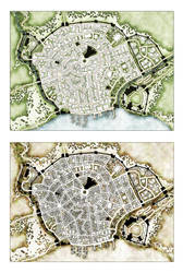 Trostig Map - Two Alternate Takes by Temphis