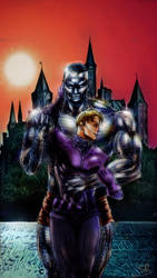 colossus and Andreas  by Sandy-reaper