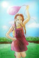 little girl by Sandy-reaper