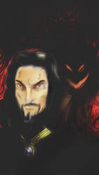 Vlad and Demons  by Sandy-reaper
