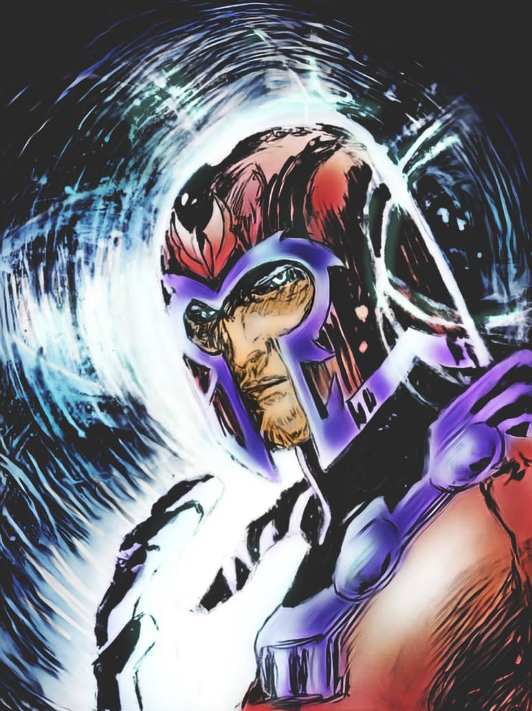Magneto ... JM style? by Sandy-reaper