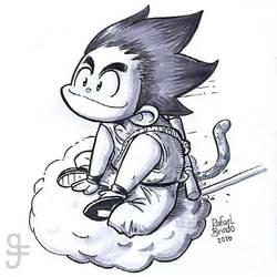 Goku by rfl-obc