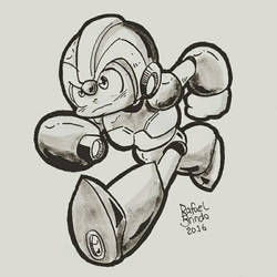 Megaman X by rfl-obc