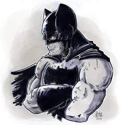 Batman by rfl-obc