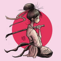 Onna Bugeisha by rfl-obc